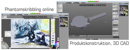 Phantomskribbling online